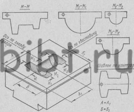 Схема половинки молотового