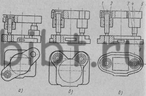 Нормализованные блоки штампов