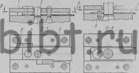 Направляющие планки в штампах последовательного действия