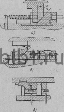 Клиновые устройства к штампам