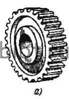 Зубчатое колесо прямозубое