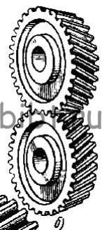 Зубчатое колесо косозубое