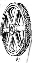 Зубчатое колесо шевронное