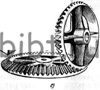 Зубчатое колесо конические