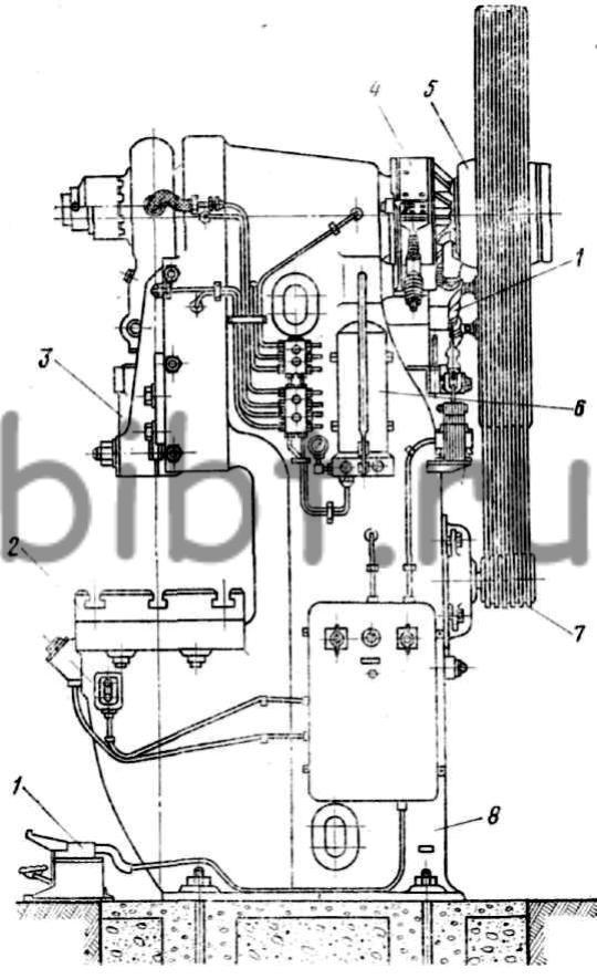Схема устройства механического