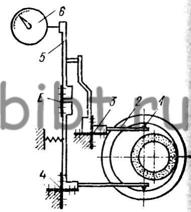 Схема индикаторного рычажного
