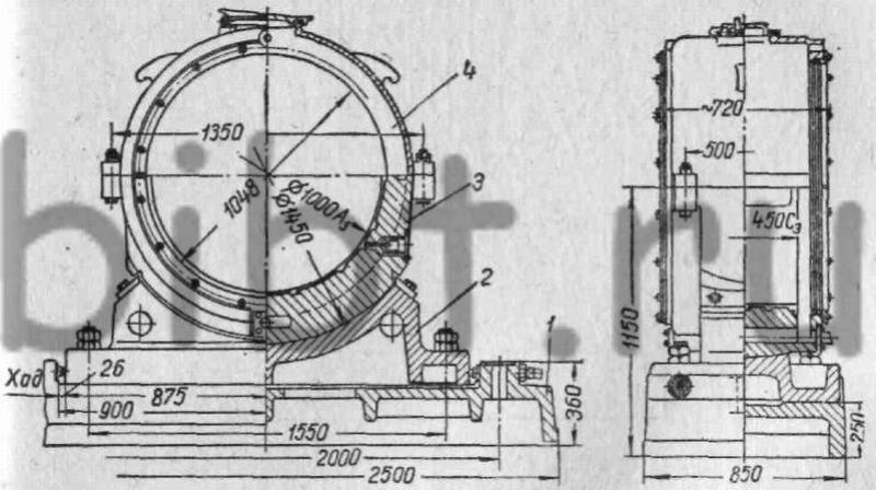 Подшипник шаровой мельницы
