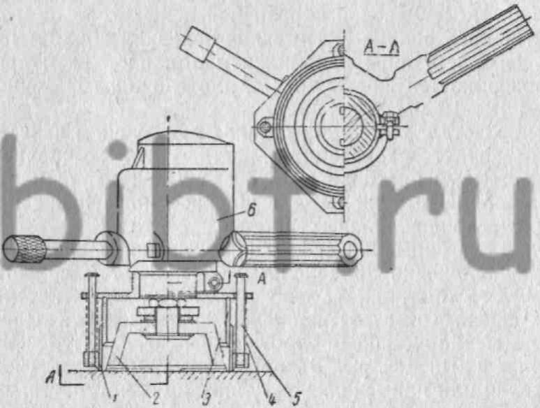 шлифовальной машинки И-44