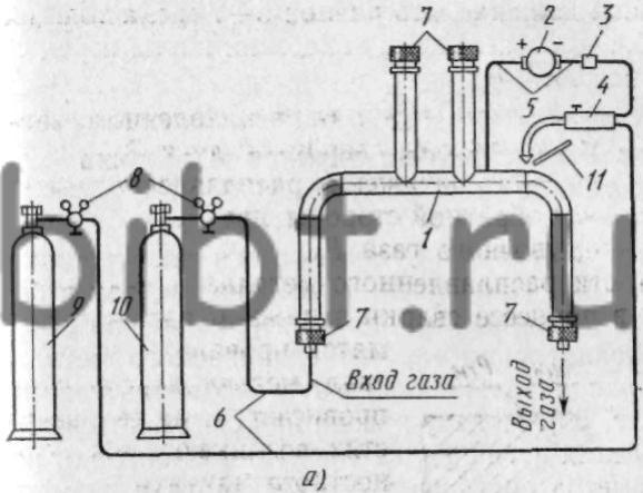 Схема ручной аргонодуговой