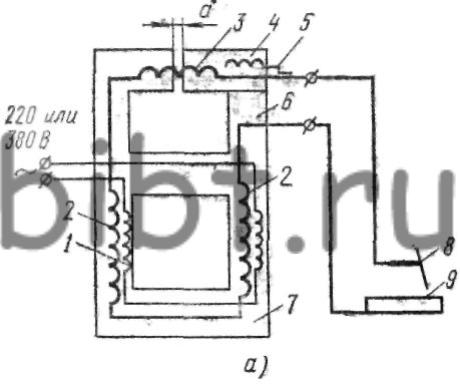 принципиальная электрическая схема трансформатора