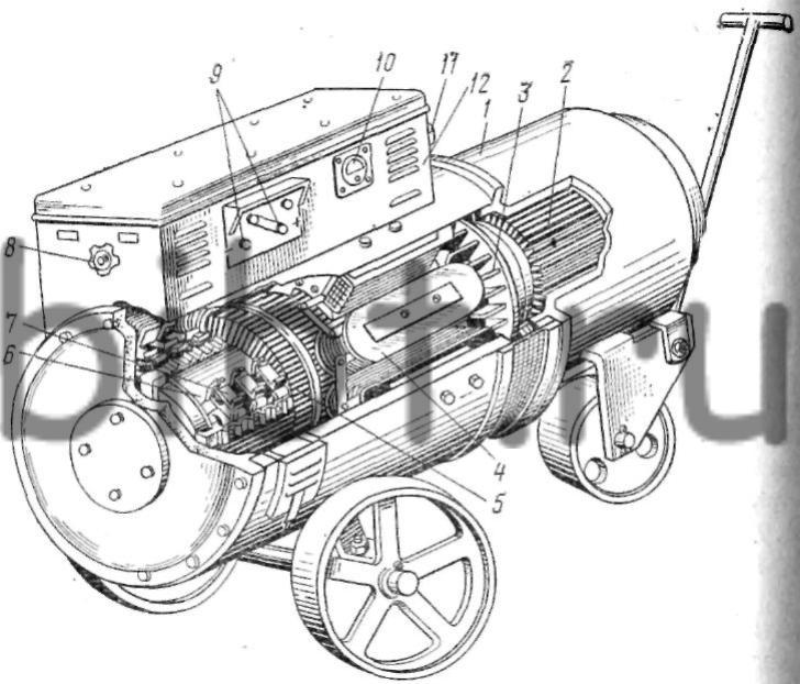 Обмотка матиз электрическая схема соединения обмоток в обмотках якоря для генератора и Обмоток 2 вывода обмоток якоря...