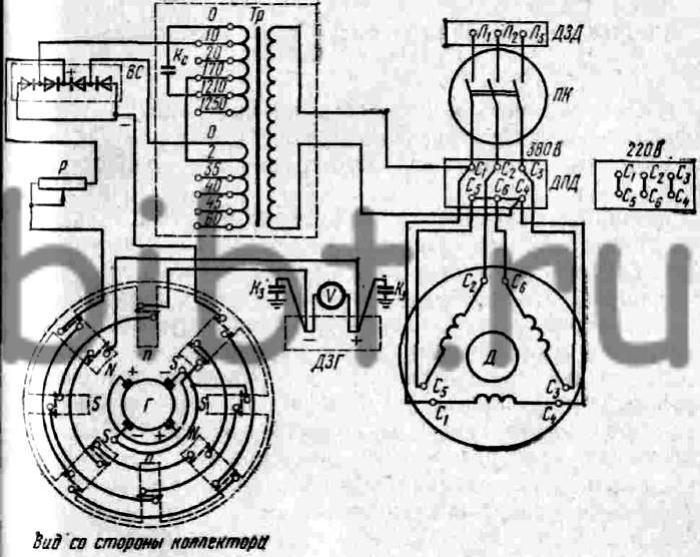 Схема принципиальная приемника урал авто 2.