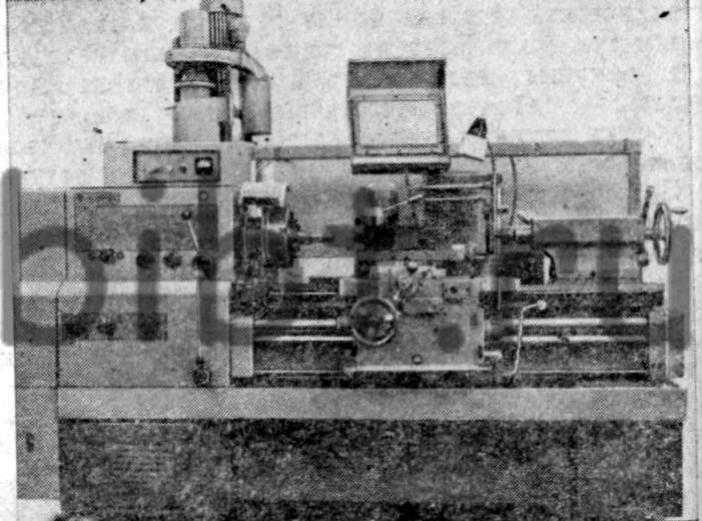Рис. 8. Токарно-винторезный станок 16К20.  Токарно-револьверные и другие станки, предназначенные для обработки...