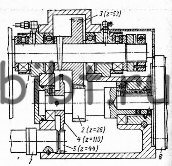 подачи станка 6Р13ФЗ-37