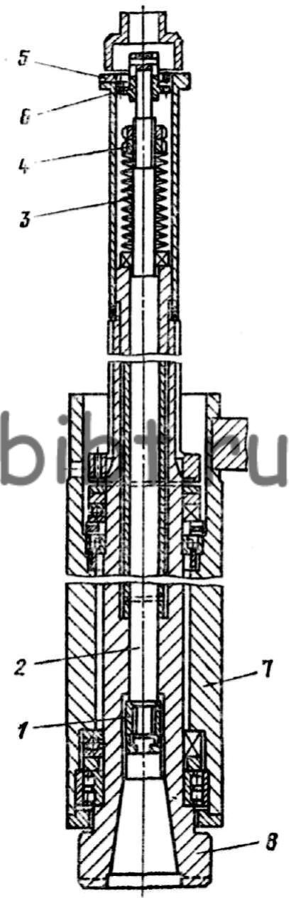 Кинематика вертикального сверлильно-фрезерно-расточного полуавтомата 243ВМФ2 с ЧПУ.