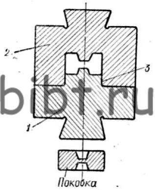 Схема одноручьевого закрытого
