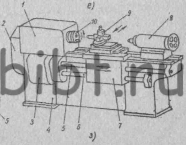 Схема компоновки основных