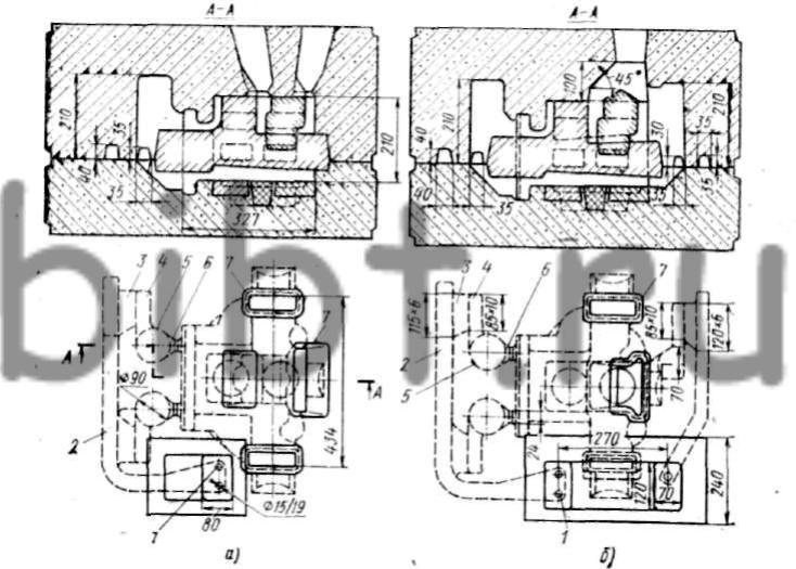 Технологическая схема двух