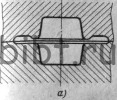 канавка молотового штампа