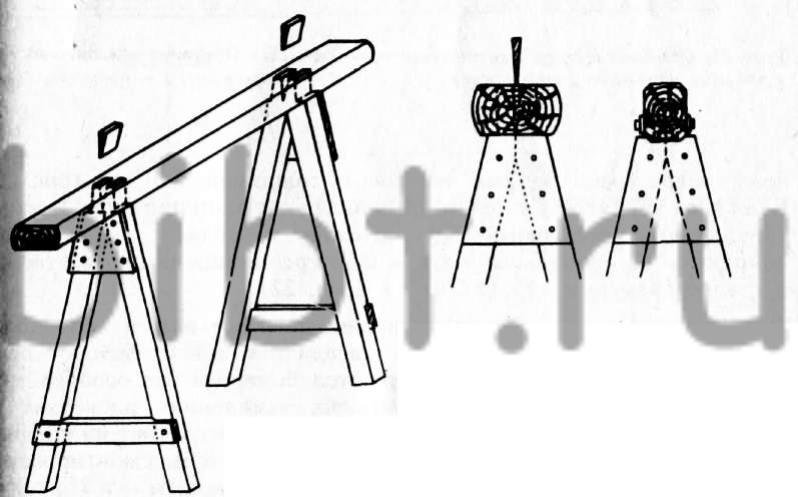 Строительные козлы своими руками чертежи из металла 6