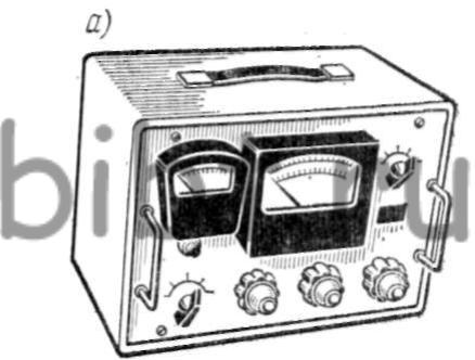 Схема установки для измерения электромагнитных полей.