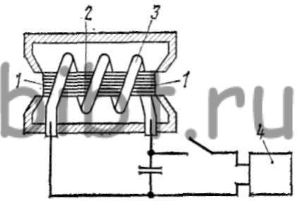Схема рубинового лазера