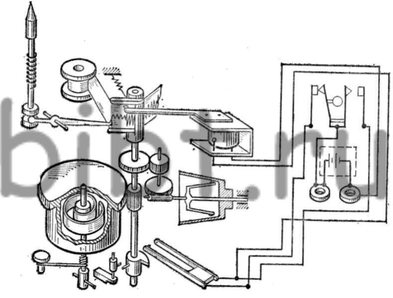 Схема портативного вибрографа
