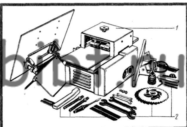 Машина для обработки древесины ИЭ-6009.  Переносной станок.
